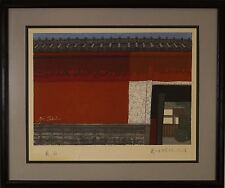 Junichiro Sekino (Japanese,1914-1988) Original Woodblock Print Signed