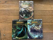 Set of 3 World of Warcraft Guides Dungeon 2/Dungeon 3/Mists of Pandaria PB