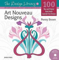 Art Nouveau Designs (Design Library) by Brown, Penny in Used - Like New