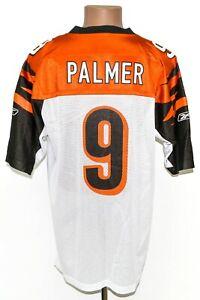NFL JERSEY BENGALS AMERICAN FOOTBALL SHIRT #9 PALMER REEBOK SIZE M ADULT