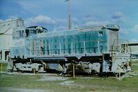 Original Slide WR Grave Railroad SW1500 101 Bartow, FL 1976