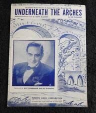 """1932"""" debajo The Arcos """" Guy Lombardo como Caracterizado en Londres Record #238"""