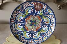 PALM RESTAURANT SPANISH MEDALLION MELAMINE DINNER PLATES - MULTI-COLORED- S/2