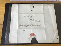 Lord  Townsend to W Boyce Pall Mall entire letter  pre stamp cover Ref R28502