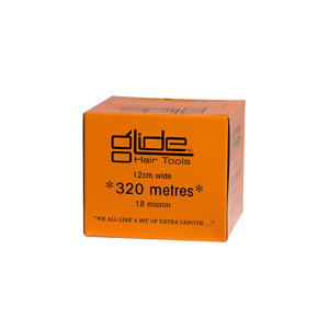 Glide Professional Silver Hairdressing Foil 18Mic 12cm x 320 Metre