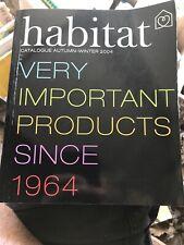 Habitat Catalogue Autumn Winter 2004