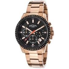 Rotary Men's Chronograph Watch GB00174/04 Rose Gold Brand New Boxed