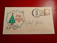 Richard Queen signed Envelope cover Iran Hostage vice consul in Tehran Autograph