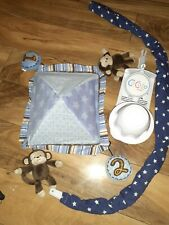 CoCoLa Wind-up Baby/Crib/Nursery Monkey Mobile, Plays Music, Excellent Condition