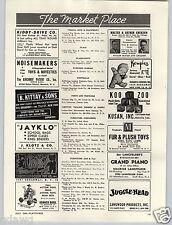 1949 PAPER AD Kewpie Doll Jersey Material Flexy Bugs Bunny Walter Lantz Prod