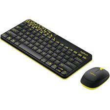 Logitech MK240 Nano Wireless Keyboard +Moe Kit Plug and Play Spill-proof Mini QT