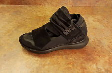 New! Yohji Yamamoto Y-3 Y3 'Qasa High' Black Sneakers Mens Size 6.5 MSRP $400