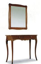 Consolle e specchiera in arte povera specchio ingresso classico mobile specchio