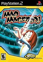 Mad Maestro (Sony PlayStation 2, 2002) PS2, Complete & Tested, Free Shipping