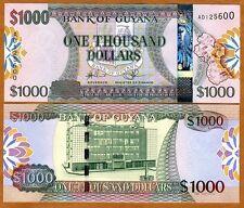 Guyana, 1000 dollars, ND (2011), P-39, UNC