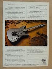 vintage magazine advert 1989 CASIO PG380