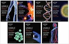USMLE Step 1 Lecture Notes 2020: 7-Book Set (Kaplan Test Prep) PAPERBACK – 20...