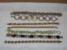 Ladies Fashion Bracelet Jewelry Vintage & Costume Rhinestone Tennis (AK28)