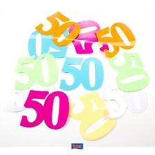 Tischkonfetti XL - Zahl 50