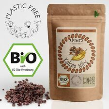 2kg Bio Kakaonibs - Kakao Nibs roh, gebrochene Kakaobohne   Kakaobohnensplitter