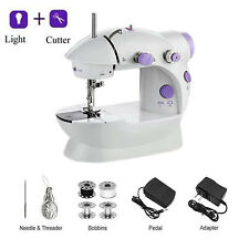 Sewing Machine Portable Mini House Electric Cutter Foot Pedal Household Travel