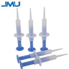 JMU Dental Disposable Impression Syringes 5ml Straight Tip Injector (100 Pcs)