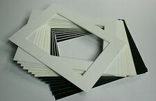 20 Stück Passepartout 40x50 cm 1,4mm säurefrei nach Maß individueller Zuschnitt