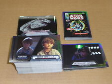 2016 Topps Star Wars EVOLUTION COMPLETE MINI MASTER SET 144 CARDS INSERTS