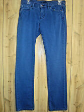 LUCKY Ladies Colored Jeans SIZE 28/6 Low Rise Royal Blue