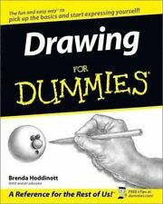 Drawing For Dummies paperback book FREE SHIPPING dummys a an the draw art sketch