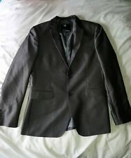PETER WERTH SILVER GREY SUIT JACKET SIZE 40 INCH EXCELLENT CONDITION