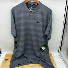NEW XL Nike Golf Blade Polo Shirt Zonal Cooling Dri-Fit Slim 933318-021