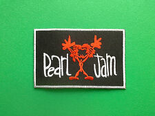 HEAVY METAL PUNK ROCK MUSIC FESTIVAL SEW ON / IRON ON PATCH:- PEARL JAM