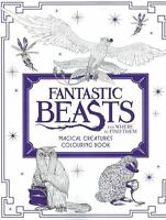 Fantastic Beasts and Where to Find Them - Magical Creatures Colouring Book NEW