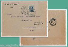 ITALIAN LEVANT  Levante - STORIA POSTALE : BUSTA da SMYRNE Greece  a NAPOLI 1910