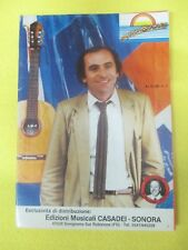 RARO SPARTITO SINGOLO MUSICA SOLARE Raul Casadei EDIZIONI CASADEI SONORA (SP4)