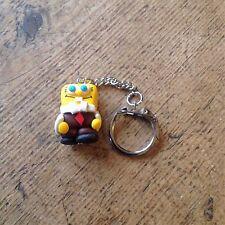 Handmade SpongeBob Keyring Cute Kitsch sponge bob