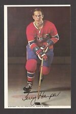 1969-71  MONTREAL CANADIENS POSTCARDS  TERRY HARPER   INV  J7355