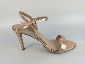 Kurt Geiger Rose Gold High Heel Sandals Uk 7 Eu 40