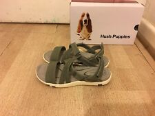 NEW Hush Puppies Deep Comfort Leather Sandals - Size 38 -RRP$119.95