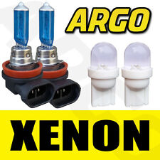 2X H8 708 35W SUPER WHITE XENON HEADLIGHT FOG DRL BULBS LAMP 12V 501 T10 W5W LED