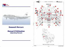 DASSAULT MERCURE 1970s Period Jet Manual Rare Historic Archive French Aircraft