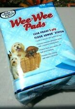 """Puppy Pads Four Paws Quilted 10 Pk  22""""x 23"""" Leak Proof Dog Pet Train Housebreak"""