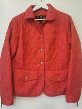 womens barbour quilt jacket size uk 12eur38