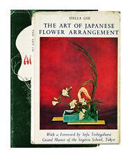 Japanese Flower Arrangement (1957 Hardcover) by Ellen G. Allen
