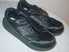"Mens New Balance 928 ""MW928BK"" Black Walking Shoes! Size 11XXW Sold As Is!"