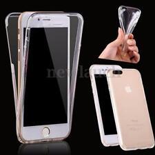 Housses et coques anti-chocs transparents iPhone 7 Plus en silicone, caoutchouc, gel pour téléphone mobile et assistant personnel (PDA)