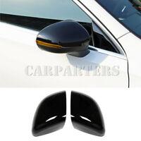 For Mercedes Benz CLA C118 Black Exterior Rearview Mirror Frame Trim Cover 2020