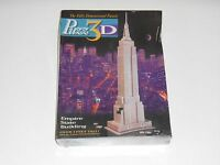 Vintage 1994 New PUZZ 3D Puzzle EMPIRE STATE BUILDING New York City 902 Pieces
