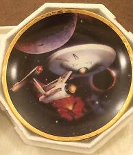 The Hamilton Collection Star Trek The Voyagers USS Enterprise NCC-1701 Plate